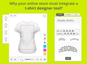 Why your online store must integrate a t shirt designer tool Online design tool