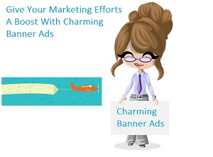 Give your marketing efforts a boost with charming banner ads